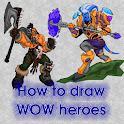 How to draw Warcraft icon