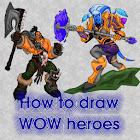 Como desenhar Warcraft icon