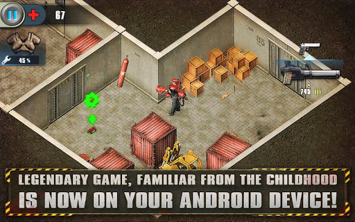 Alien Shooter Free - Isometric Alien Invasion fond d'écran 1