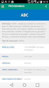 BNDES Agro screenshot 2