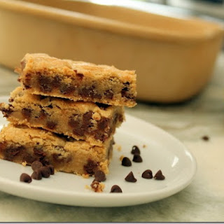 The Best Ever Chocolate Chip Cookie Bars.