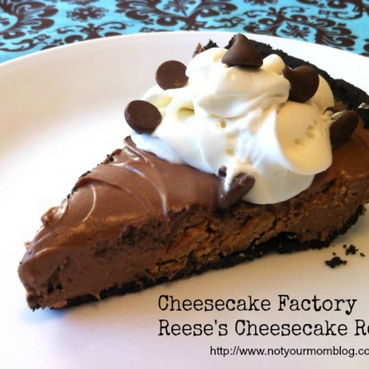 Cheesecake Factory Reeses Cheesecake Copy