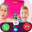 Diana and Roma 📞 Calling 📱 video Call & chat icon