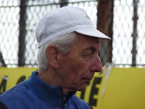 Photo: Raymond HENRI est venu en souvenir de son ami G.MARAVAL