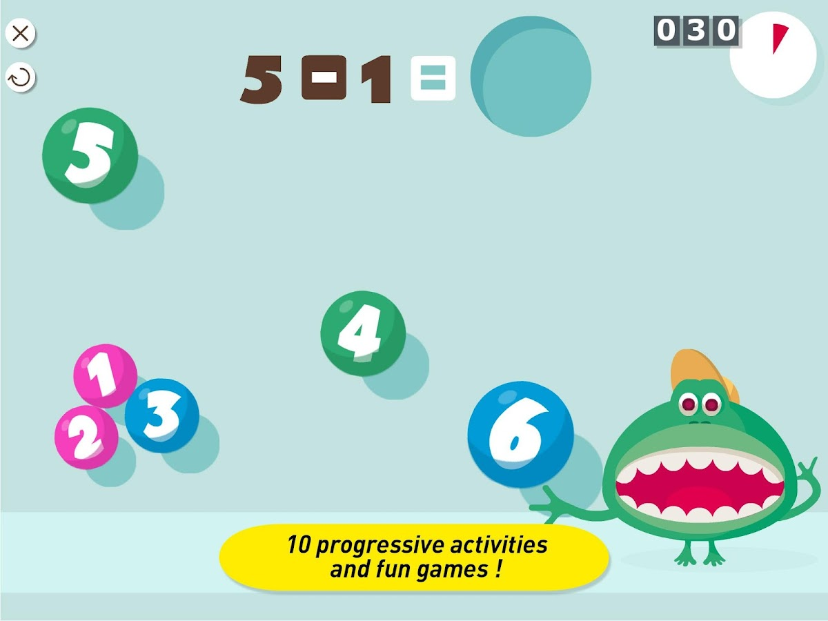 Montessori Monster Math Lab- screenshot