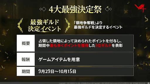 最強ギルド決定イベント