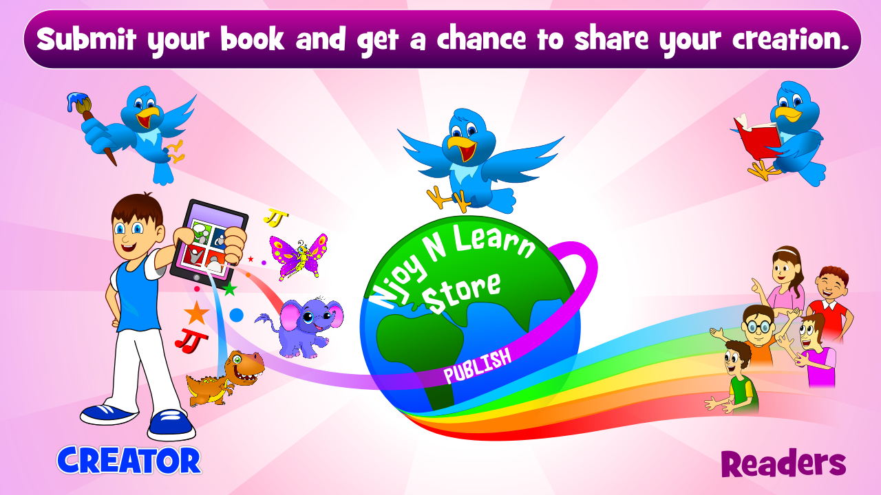 Create Children Book- screenshot