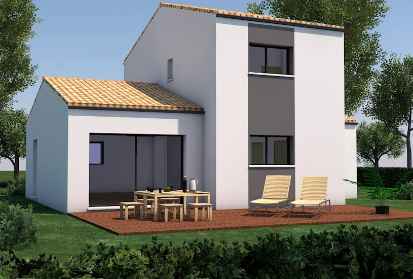 Vente Terrain + Maison - Terrain : 300m² - Maison : 97m² à Sainte-Pazanne (44680)