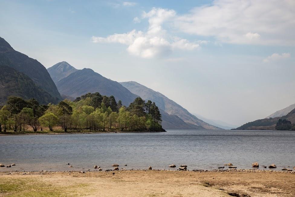 Glenfinnan, jezioro Loch Shiel