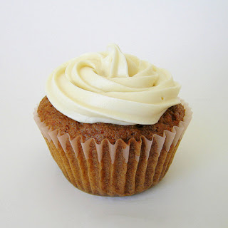 Carrot Cake Cupcakes Recipe with Cream Cheese Frosting