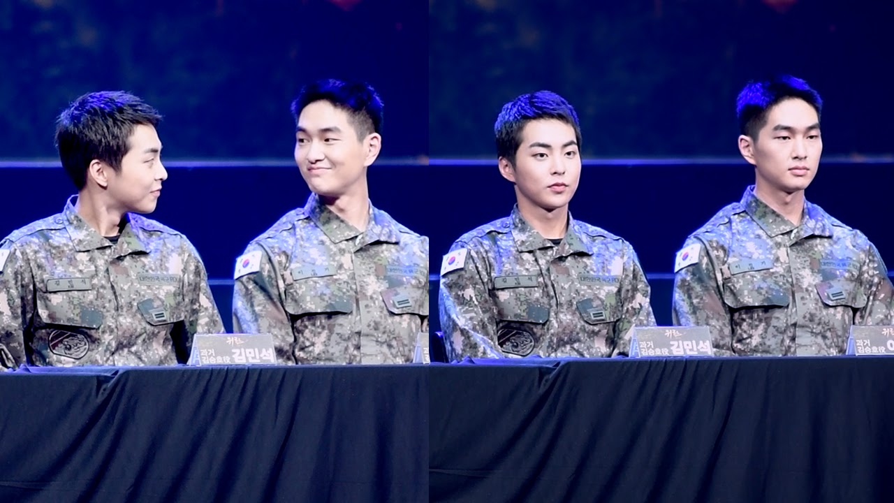 exo xiumin 2019 army 8