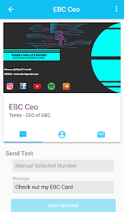 Ebc Electronic Business Card Screenshot Thumbnail