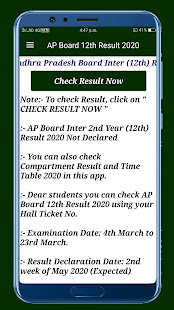Download AP Board Results 2020,10th&12th Board Result 2020 For PC Windows and Mac apk screenshot 3