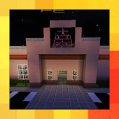 5 nights at Freddy's. Pizzeria. Map for MCPE