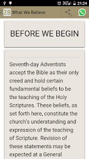 What Adventists Believe- screenshot thumbnail