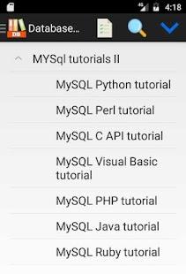 Database (DB) Programming Tutorials - náhled
