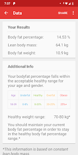 Body Fat Calculator 3