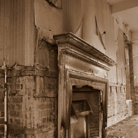 Burnt out by David Degruchy-Jones - Buildings & Architecture Other Interior