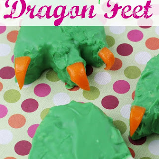 Rice Krispies Dragon Feet