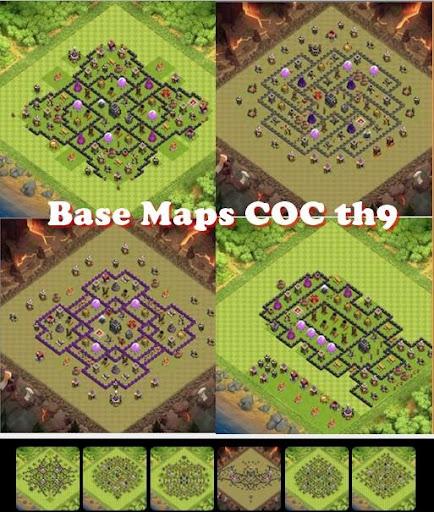 Base Maps COC th9 2.0 screenshots 1