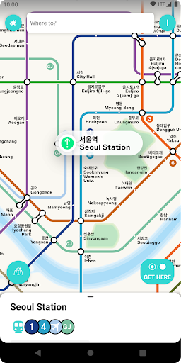 Seoul Metro Subway Map and Route Planner screenshot 6