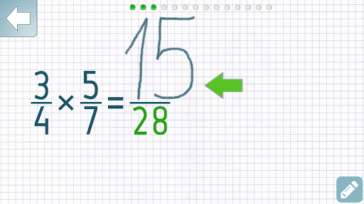 Multiplying Fractions Trainer Apps (apk) free download for Android/PC/Windows screenshot