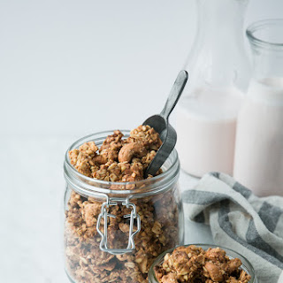 Clumpy Coconut Butter Granola Recipe