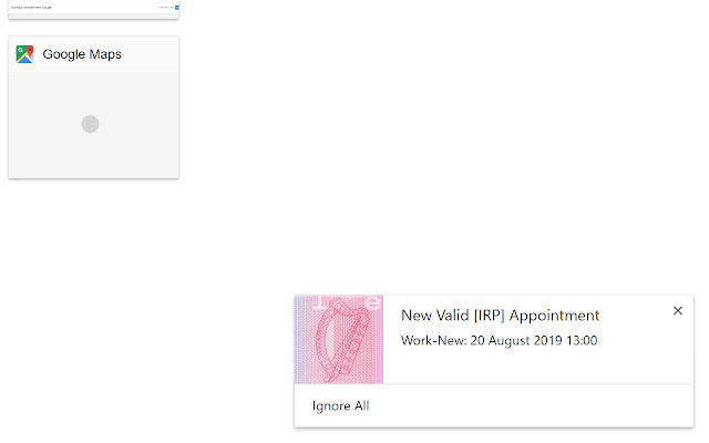 GNIB/IRP and Visa Appointment