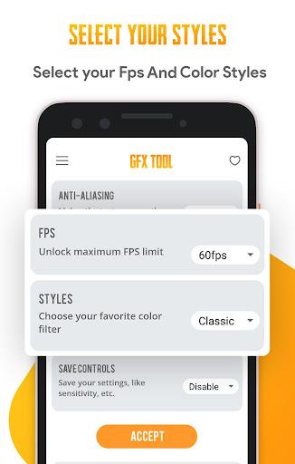 GFX Tool pro - No Lags 10.0 screenshots 2