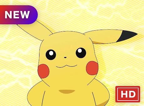 Pikachu Top Anime HD New Tabs Theme