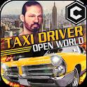 Crazy Open World Driver - Taxi Simulator New Game icon