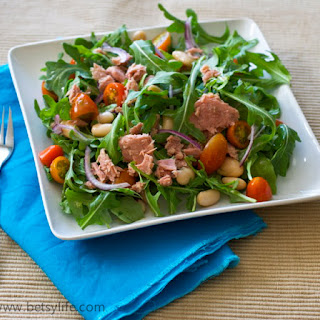 Arugula Salad Tuna Recipes