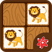 Animals Memory Match - Zoo Safari