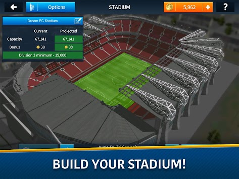 Όνειρο League Soccer 2017 από την First Touch APK screenshot thumbnail 10