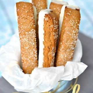 Gingerbread Biscotti.