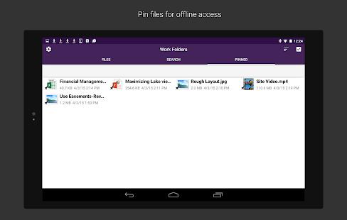 Work Folders Screenshot 8