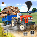 Tractor Driving Games: Tractor Trolley Simulator icon