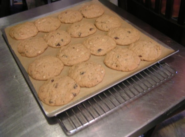 Bake 12 to 14 minutes.  Cool on cookie sheet placed on a rack...