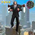 flying jetpack mafia Crime Simulator icon