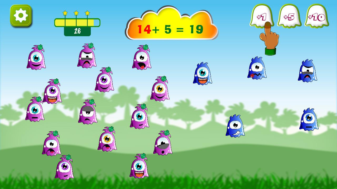 Math+- addition & subtraction- screenshot