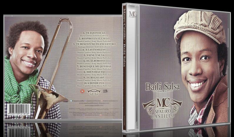 Mauro Castillo - Bailá Salsa (2012) [MP3 @320 Kbps]