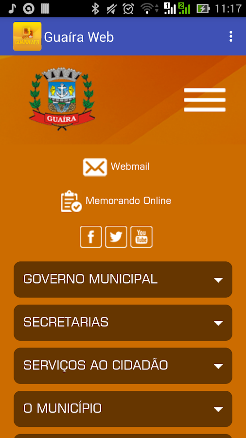 Guaíra Web- screenshot