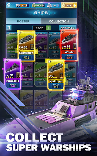 Battleship & Puzzles: Warship Empire Match apklade screenshots 2