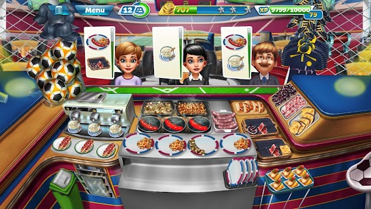 Cooking Fever Mod Apk 10.0.0 (Unlimited Coins + Gems) 6