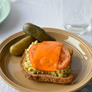 Healthier Dairy-Free Tuna Melt