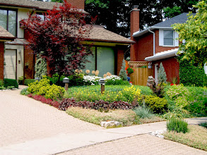 Photo: Existing shrubs and trees should be maintained when possible. This garden wouldn't be the same if we'd removed the original plants such as the Japanese Maple and Yews!