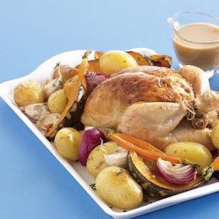 Roast Chicken with Sage.