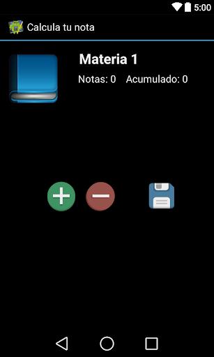 【免費教育App】Calcula Tu Nota-APP點子