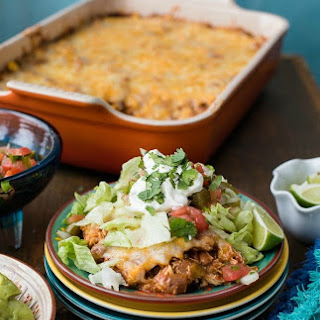 Easy Mexican Chicken Casserole.