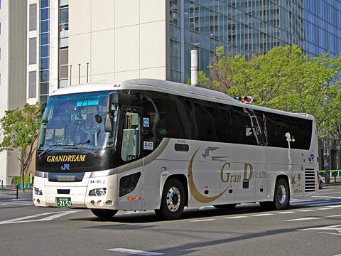 西日本JRバス「グランドリーム大阪2号」 2152